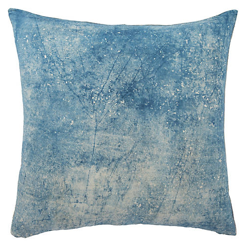 Lestanne 22x22 Pillow, Blue