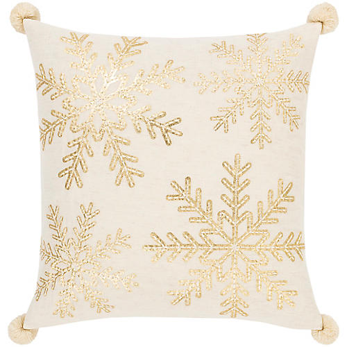 Twinkle 20x20 Pillow, Gold