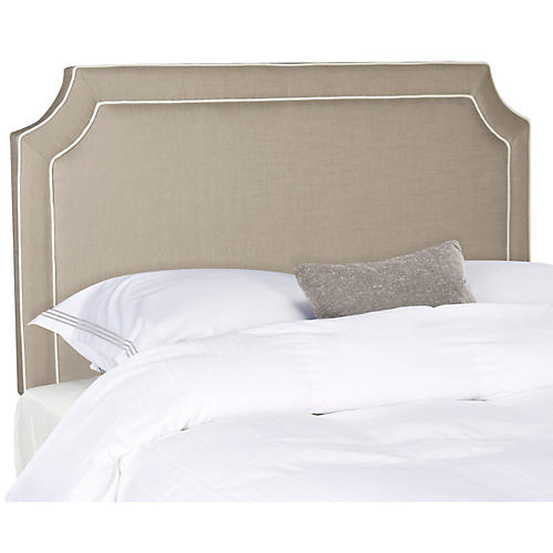 Dane Headboard, Oyster/White