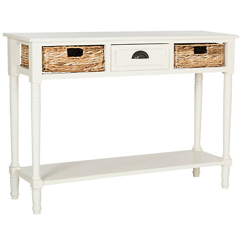 Christa Console, Distressed White