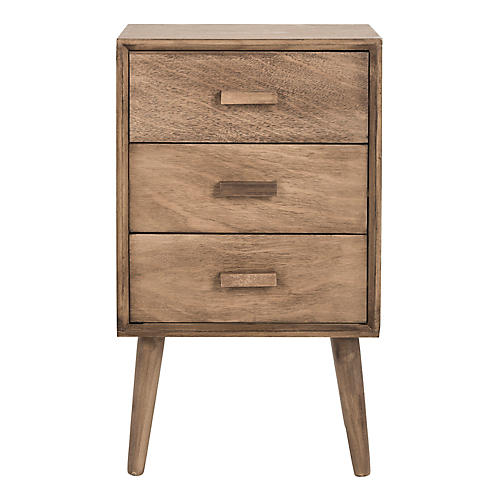 Pomona Nightstand, Chocolate