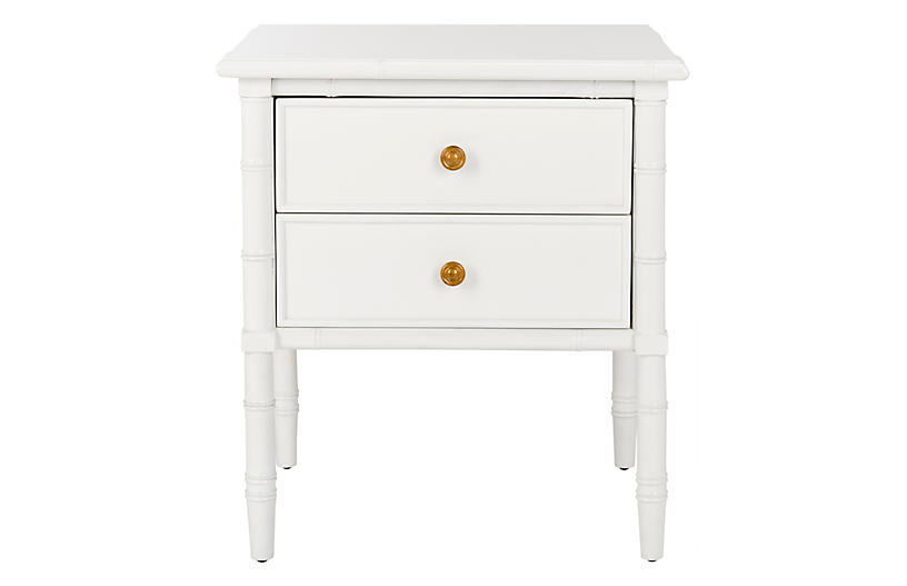 Erickson 2-Drawer Nightstand, White