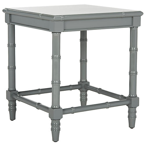 Liviah Side Table, Gray