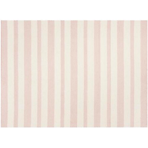 Foii Kids' Rug, Pink/Ivory