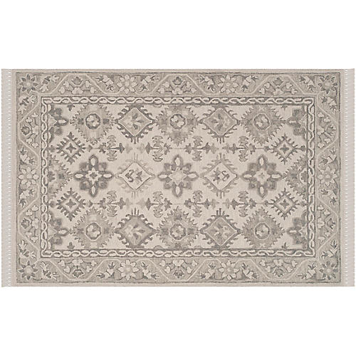 Munson Rug, Light Gray