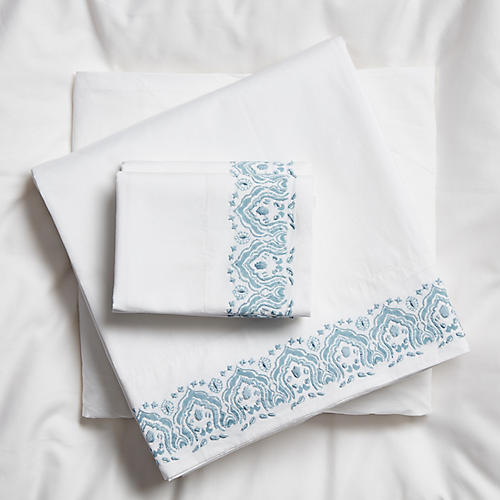 Edges Sheet Set, Cloud