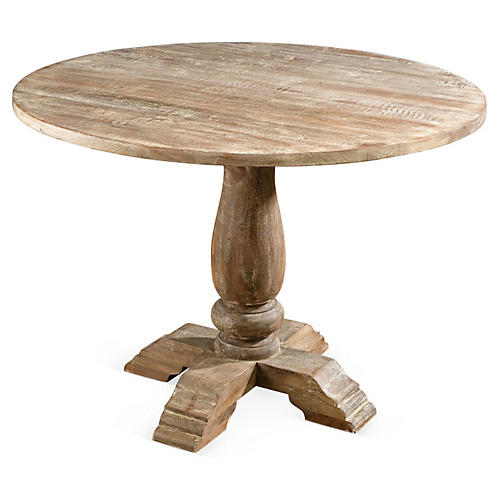 Viscardi Round Dining Table, Sand