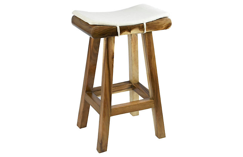 Anzu Stool - Natural Finish