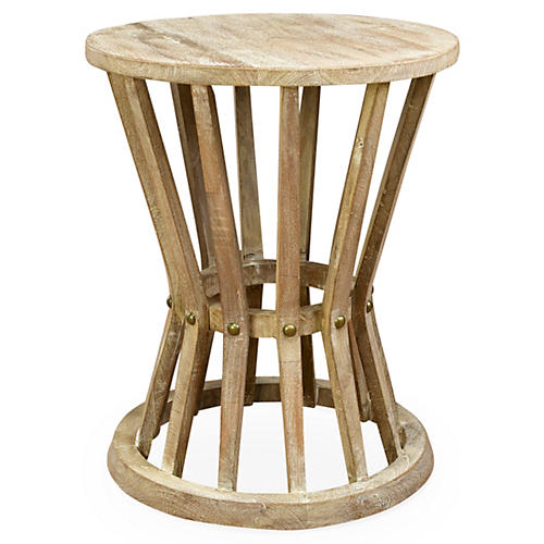 Ali Rustic Side Table, Natural