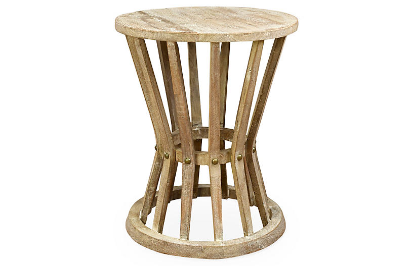 Ali Rustic Side Table - Natural