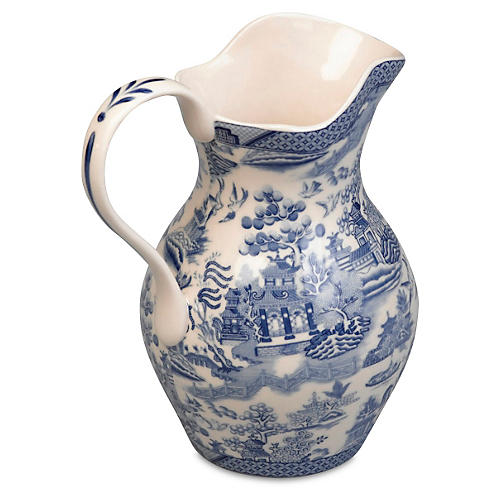 "7"" Arianne Pitcher, Blue/White"