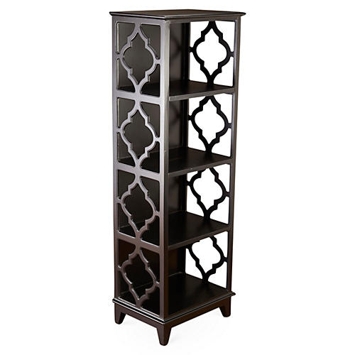 Barton Bookcase, Black