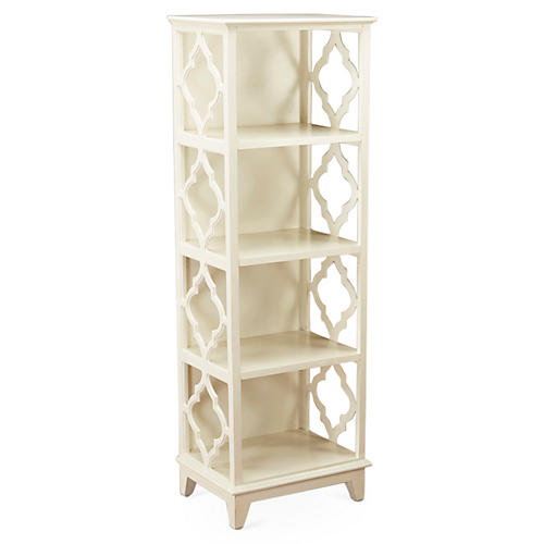 Barton Bookcase, White