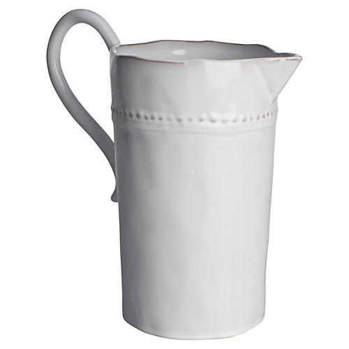 Charlot French Pitcher, White