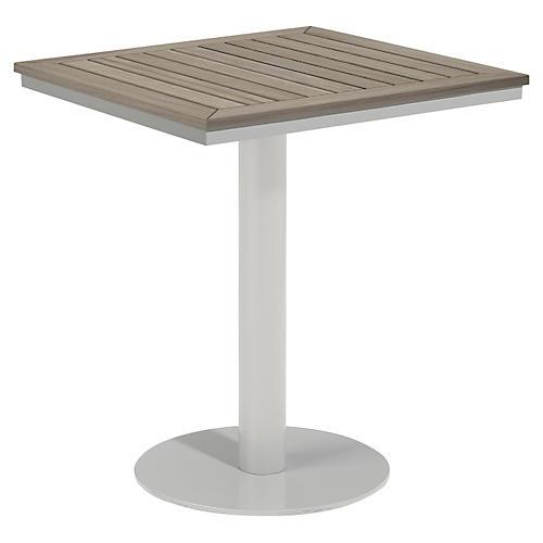 Toshi Tekwood Bistro Table, Ash