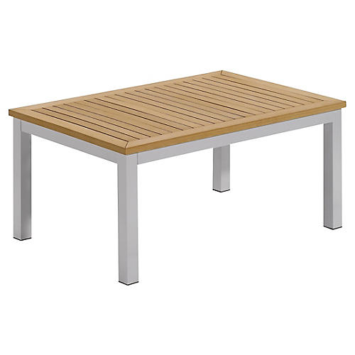 Charleston Coffee Table, Natural