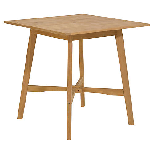"Seabrook 42"" Bar Table, Natural"