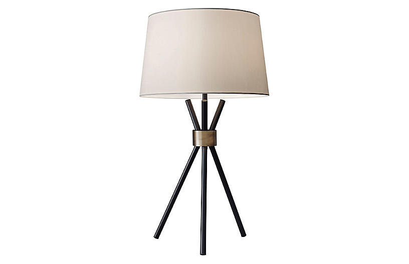 Benson Table Lamp, Black