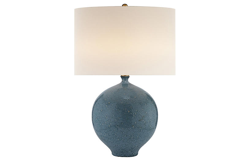 Gaios Table Lamp, Blue Lagoon
