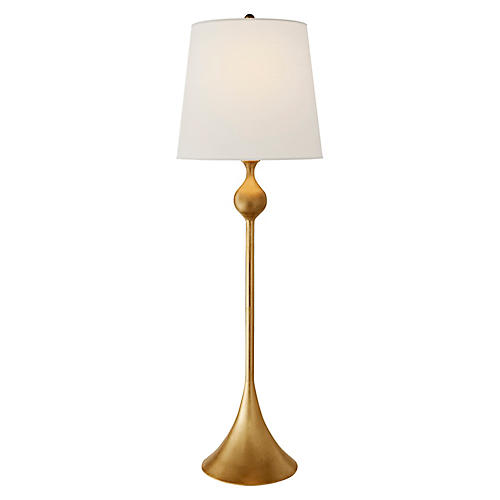 Dover Buffet Table Lamp, Gild