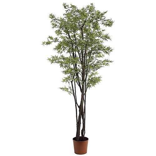 "72"" Faux Mini Japanese Maple Tree"