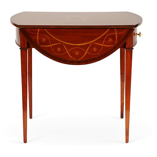Gardanne Drop-Leaf Table, Tawny