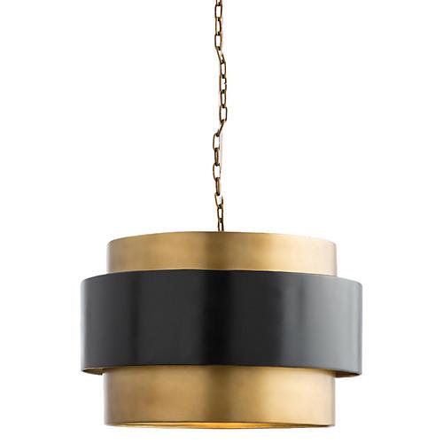 Nolan Pendant, Brass/Bronze