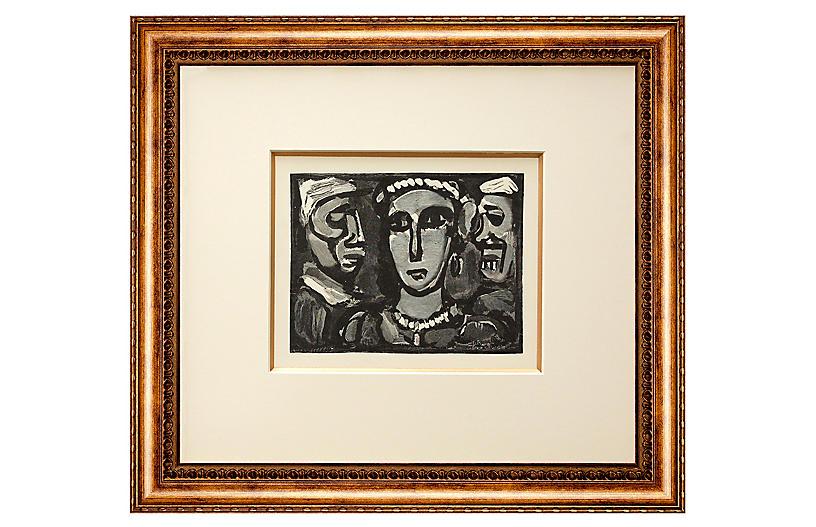 Georges Rouault, Trois Visages
