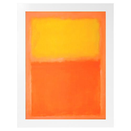 Rothko, Orange and Yellow 1956
