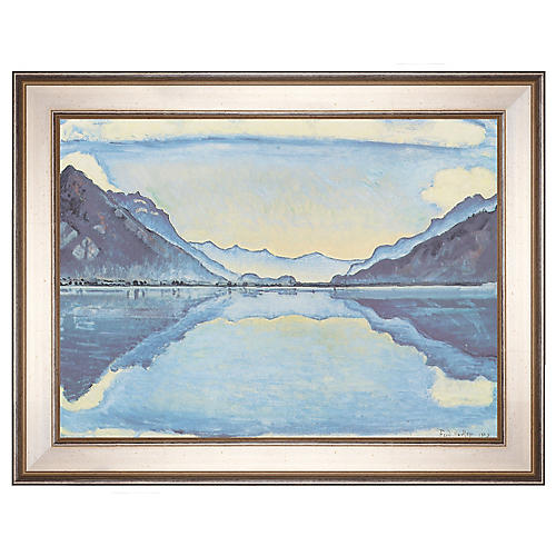 Hodler, Lake Thun, 1909