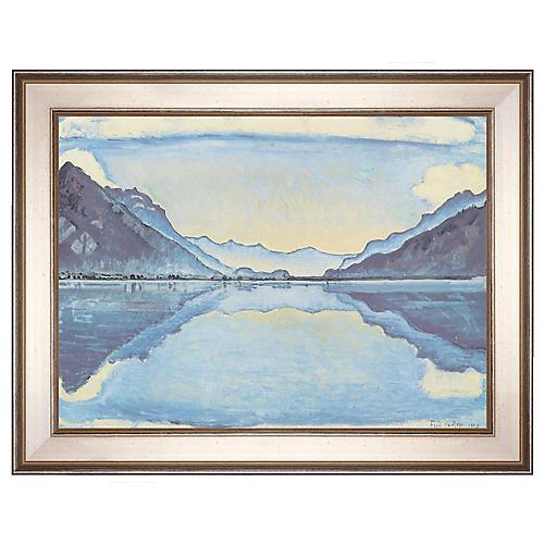 Hodler, Lake Thun, 1909