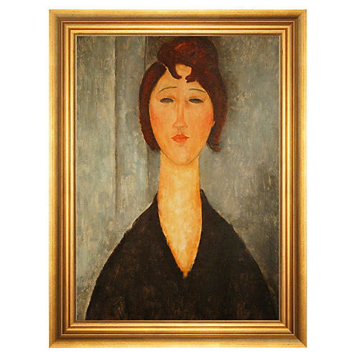 Modigliani, Portrait of a Young Woman