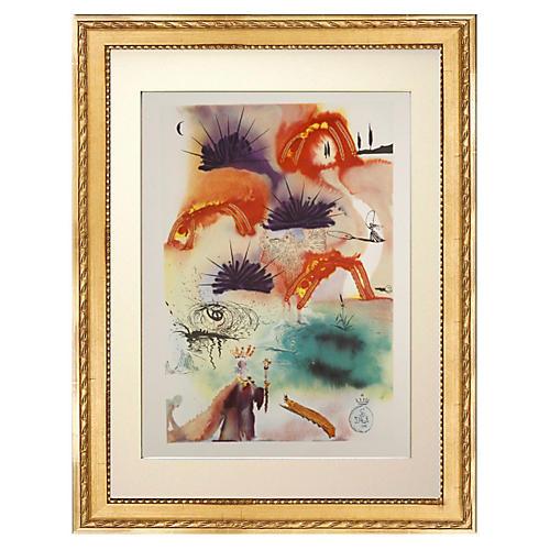 Salvador Dalí, The Lobster Quadrille