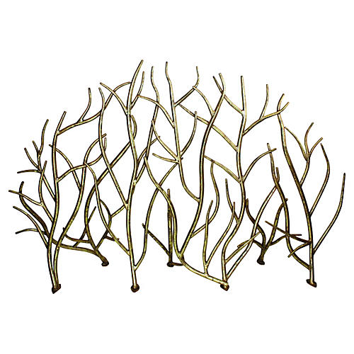 Twig Fire Screen