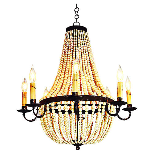 Warwick 8 Light Chandelier  GoldLighting   One Kings Lane. Luminary Lighting John Kent. Home Design Ideas