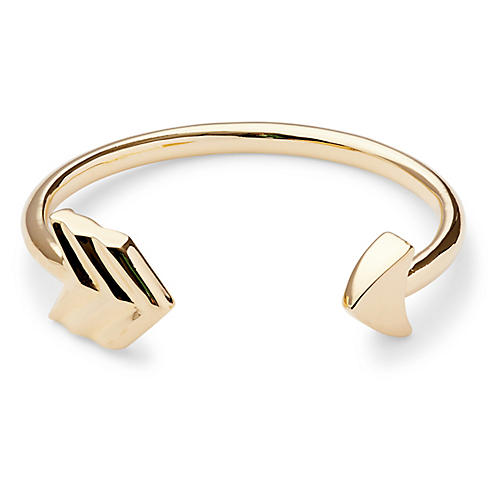 Arrow Cuff, Gold