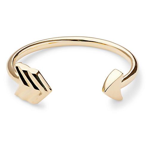 Arrow Cuff, Gold