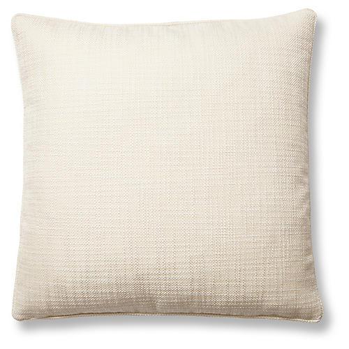 Otis 22x22 Pillow, Snow