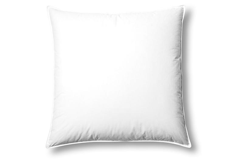 Studio Down Euro Pillow, Firm