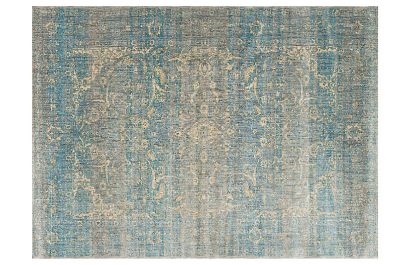 Conrad Rug, Light Blue/Mist