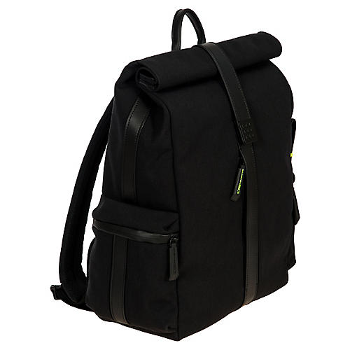 Moleskine Roll-Top Backpack, Black