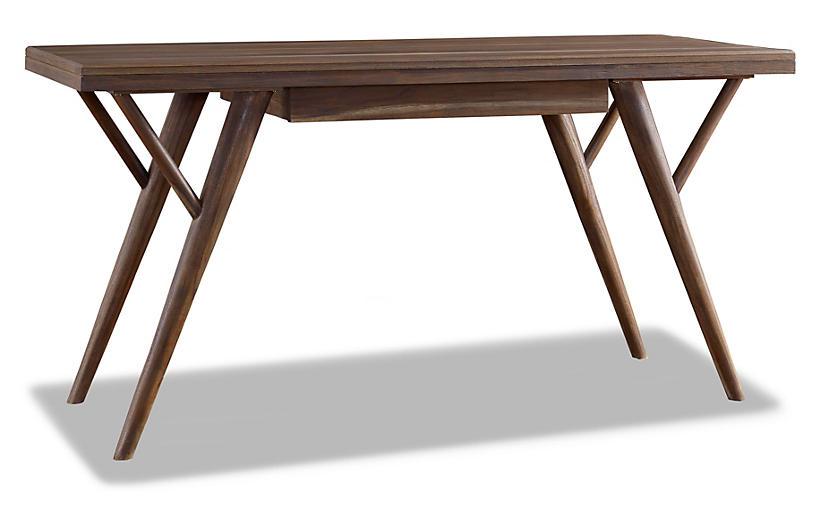 Crawford Desk, Sepia