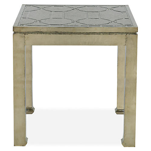 Baxter German Silver Side Table
