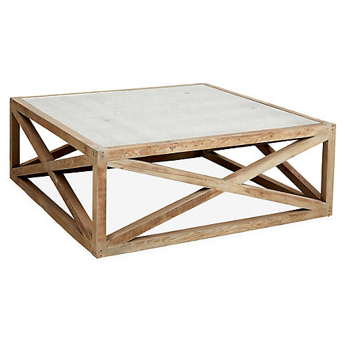 """Manning 36"""" Coffee Table, Natural"""