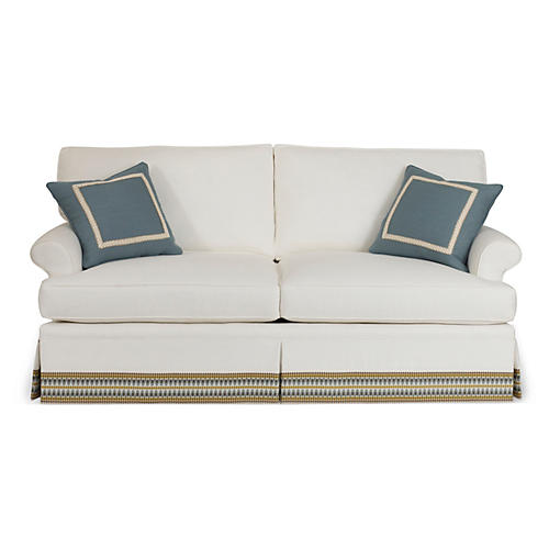 "Montrose 78"" Skirted Sofa"