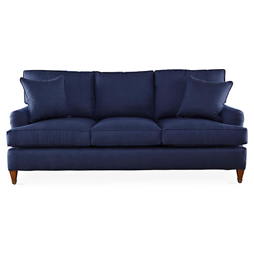 "Brockville 83"" Sofa, Midnight"