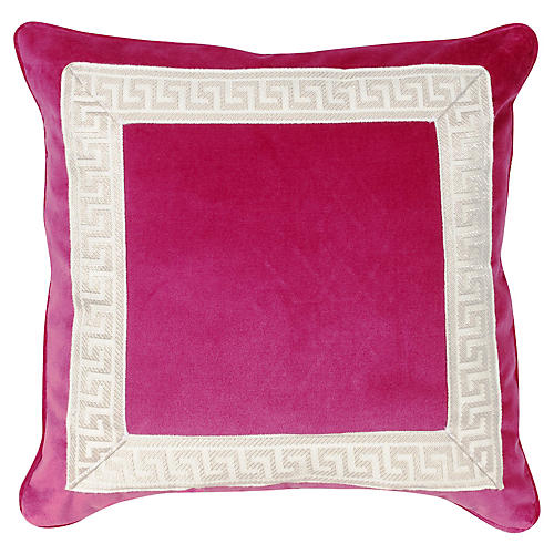 Robertson 20x20 Pillow, Sangria