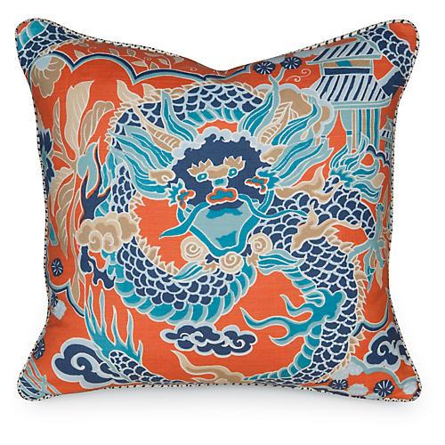 Imperial Dragon 19.5x19.5 Pillow