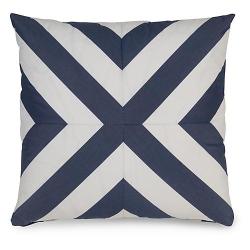 Mini Deck 19.5x19.5 Pillow, Indigo
