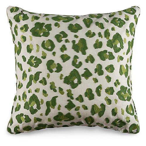 Tonga 19.5x19.5 Pillow, Green